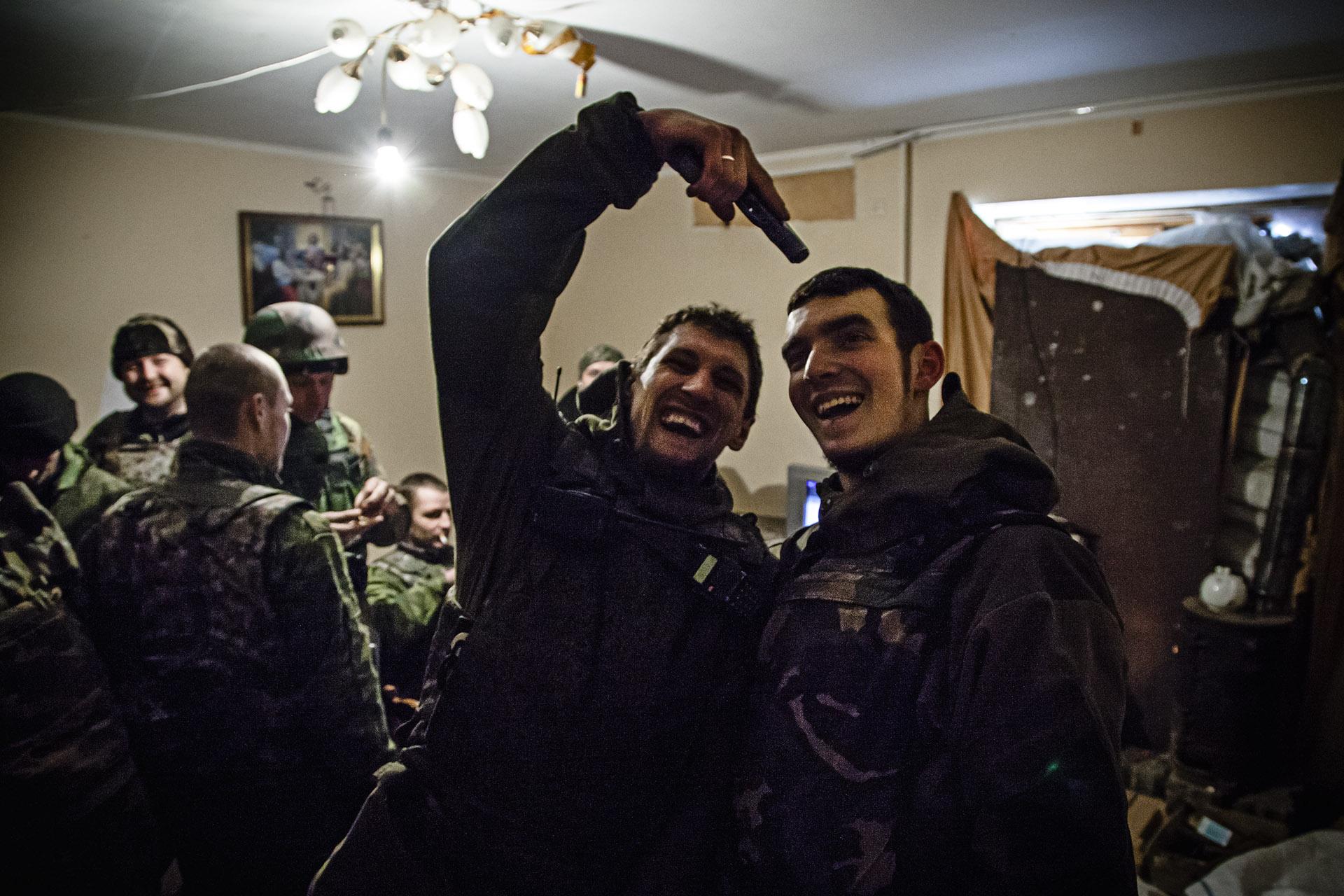 Los ánimos son, en general, elevados entre las tropas separatistas