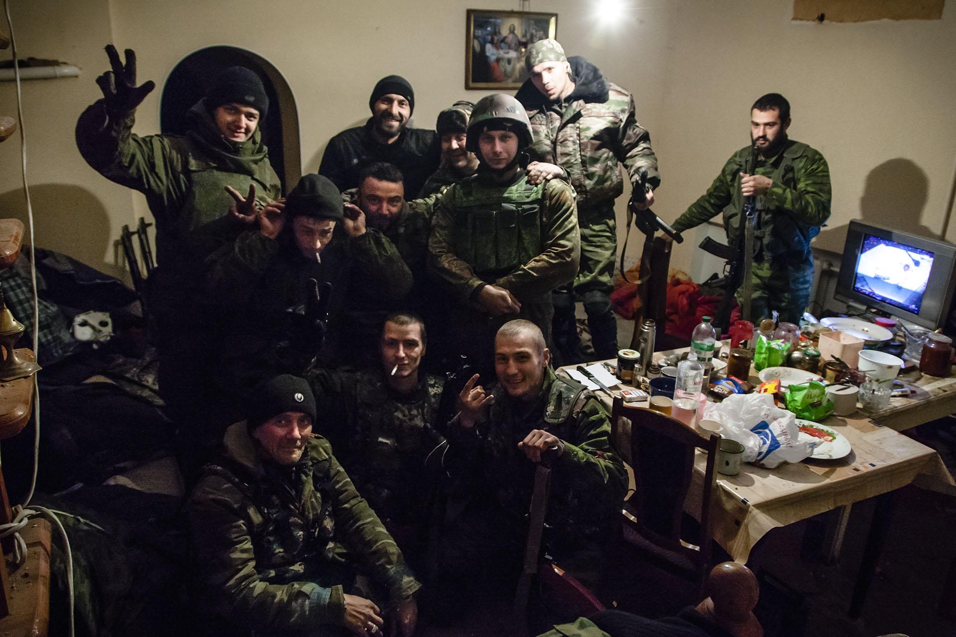 """Miembros del """"Batallón Somalí"""""""