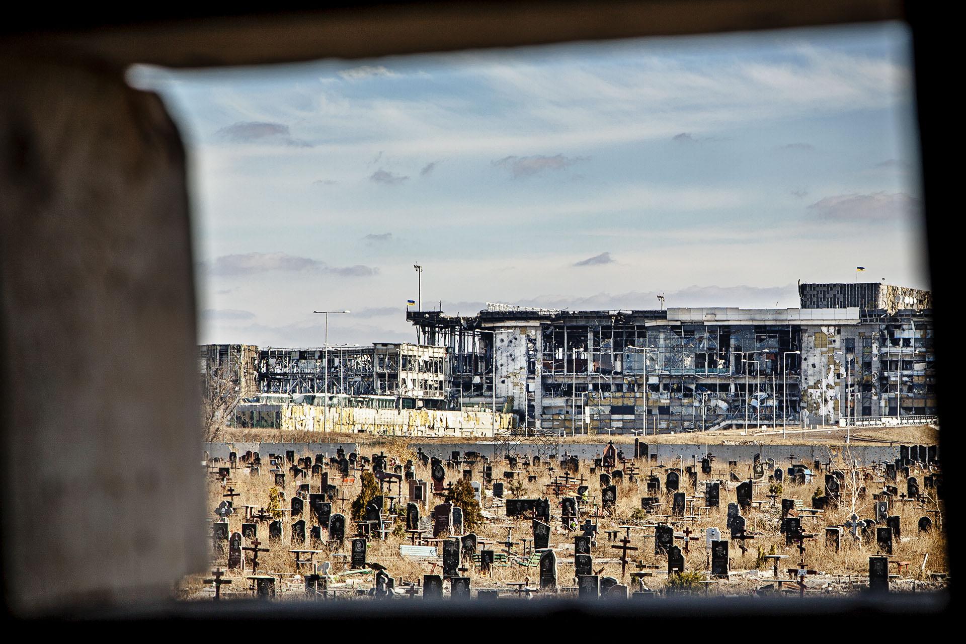 El aeropuerto de Donetsk fue reinaugurado para la Eurocpa de 2012 tras una inversión de 700 millones de euros