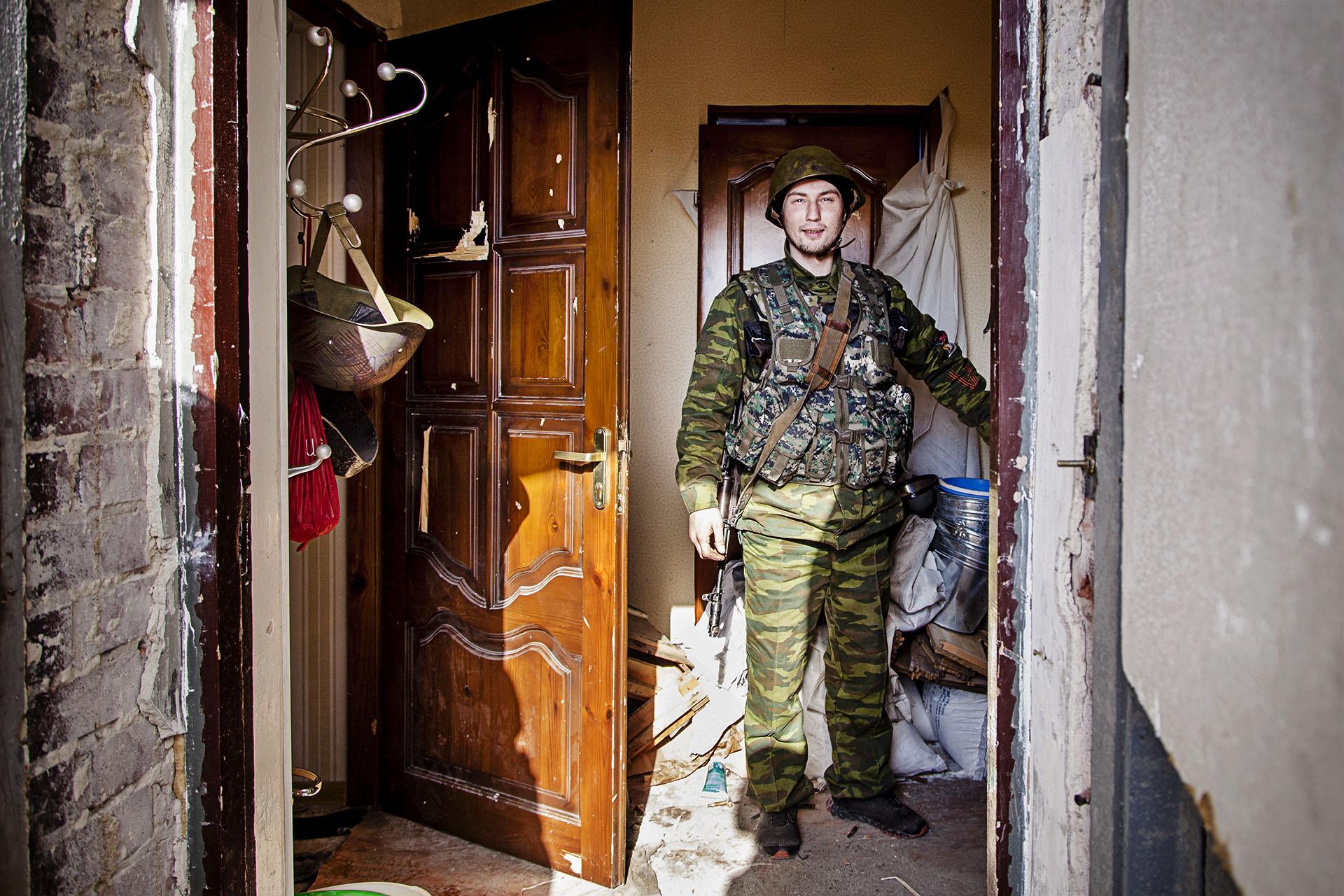 Joven soldado de la RPD