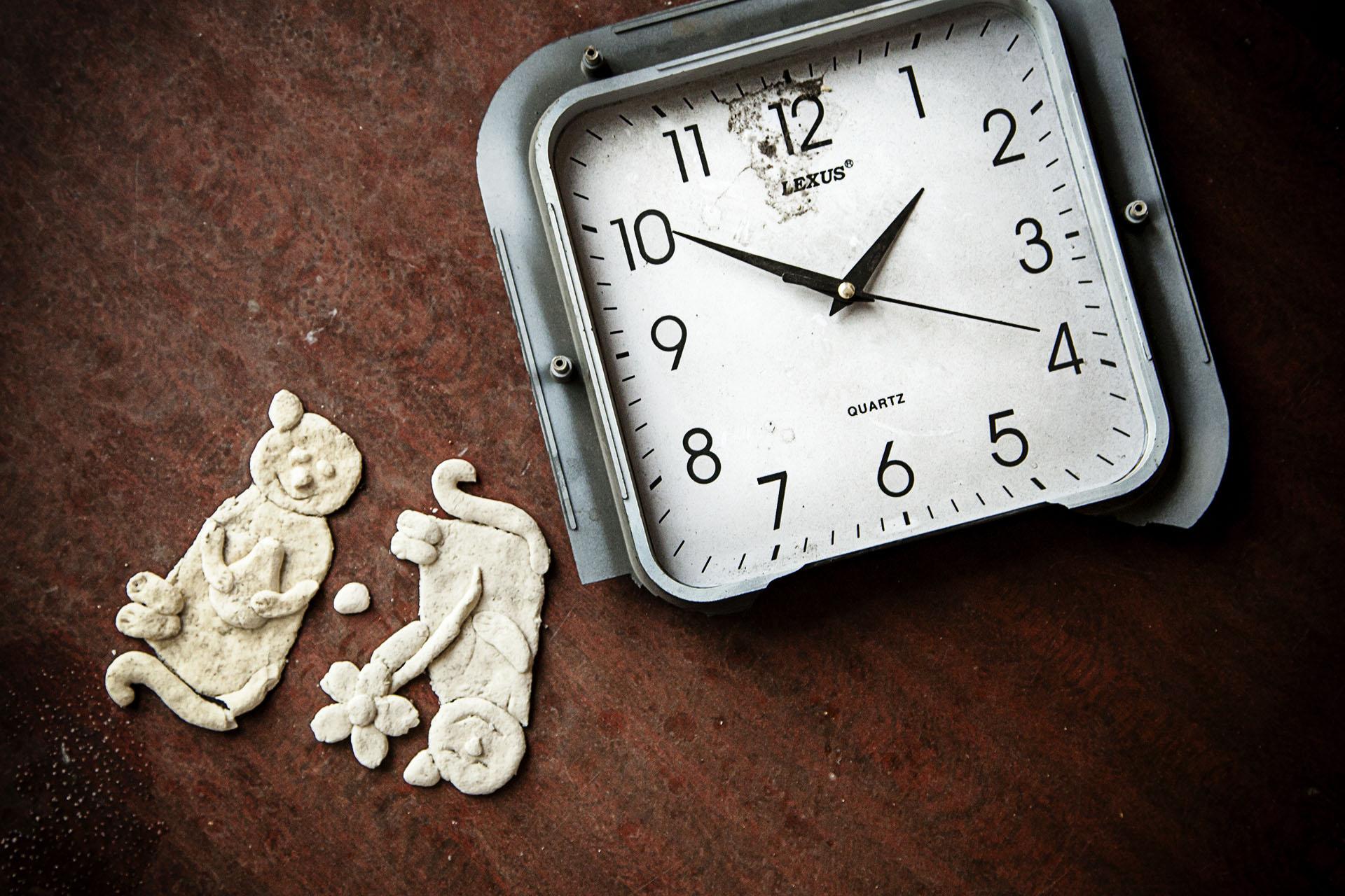 El tiempo se detiene durante los bombardeos