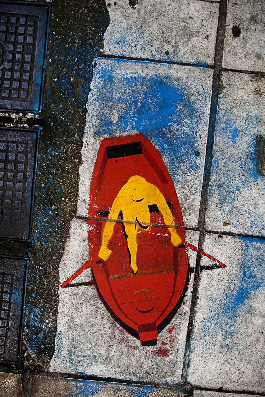 El arte urbano es uno de los medios de expresión y desahogo de la juventud griega