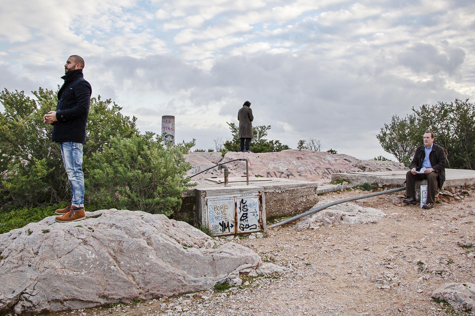 Mirador en la colina de Ares