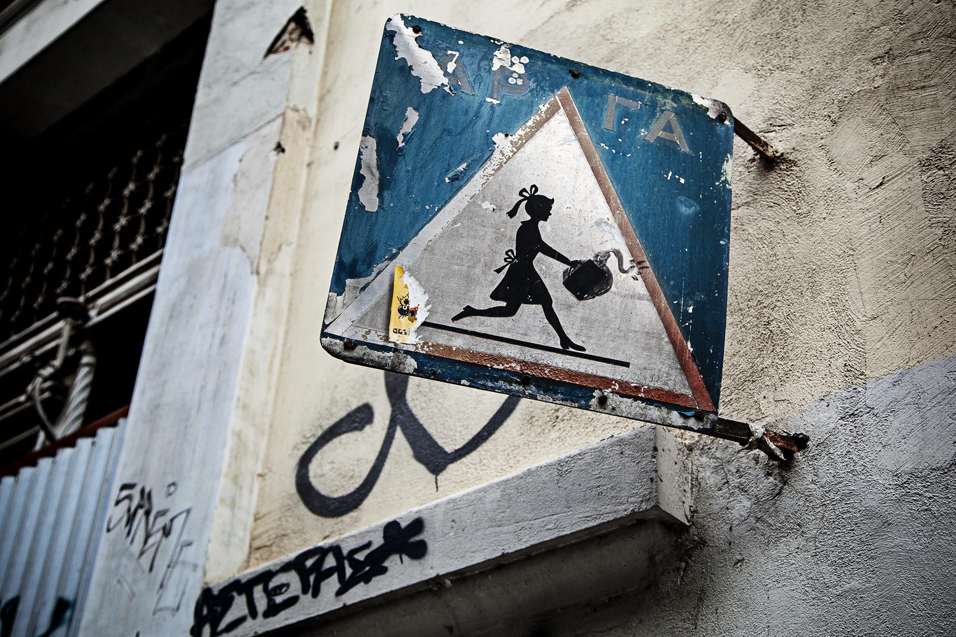 El arte urbano inunda Atenas