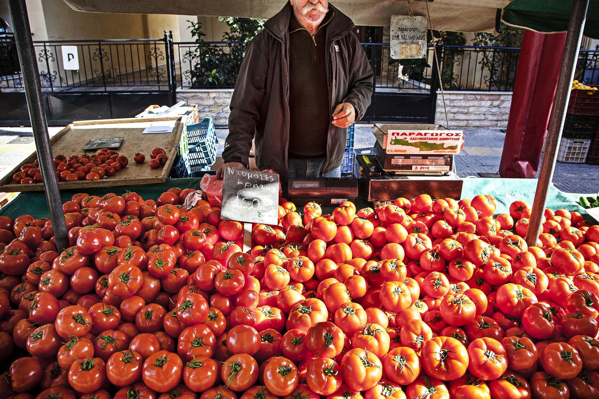Los agricultores se han visto afectados por la crisis y por el embargo ruso