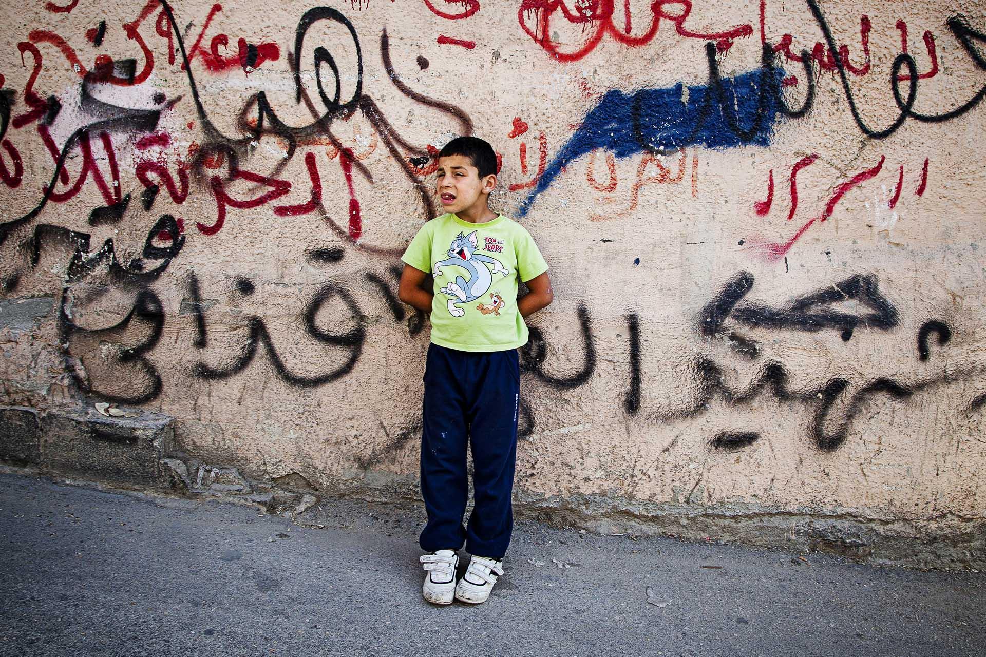 En los numerosos campos de refugiados existentes en los Territorios Ocupados, los niños se enfrentan a un futuro incierto y desesperanzador.