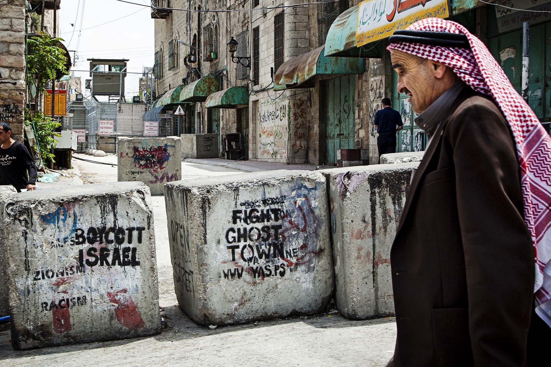 El centro de Al Khalil (Hebrón) está tomado por el ejército israelí desde hace años