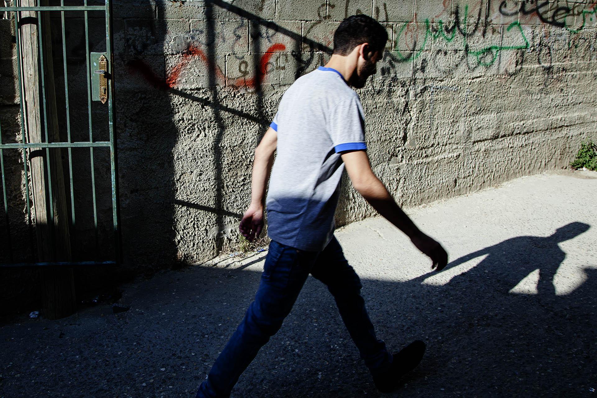 Los ciudadanos palestinos están sometidos a fuertes restricciones de movilidad