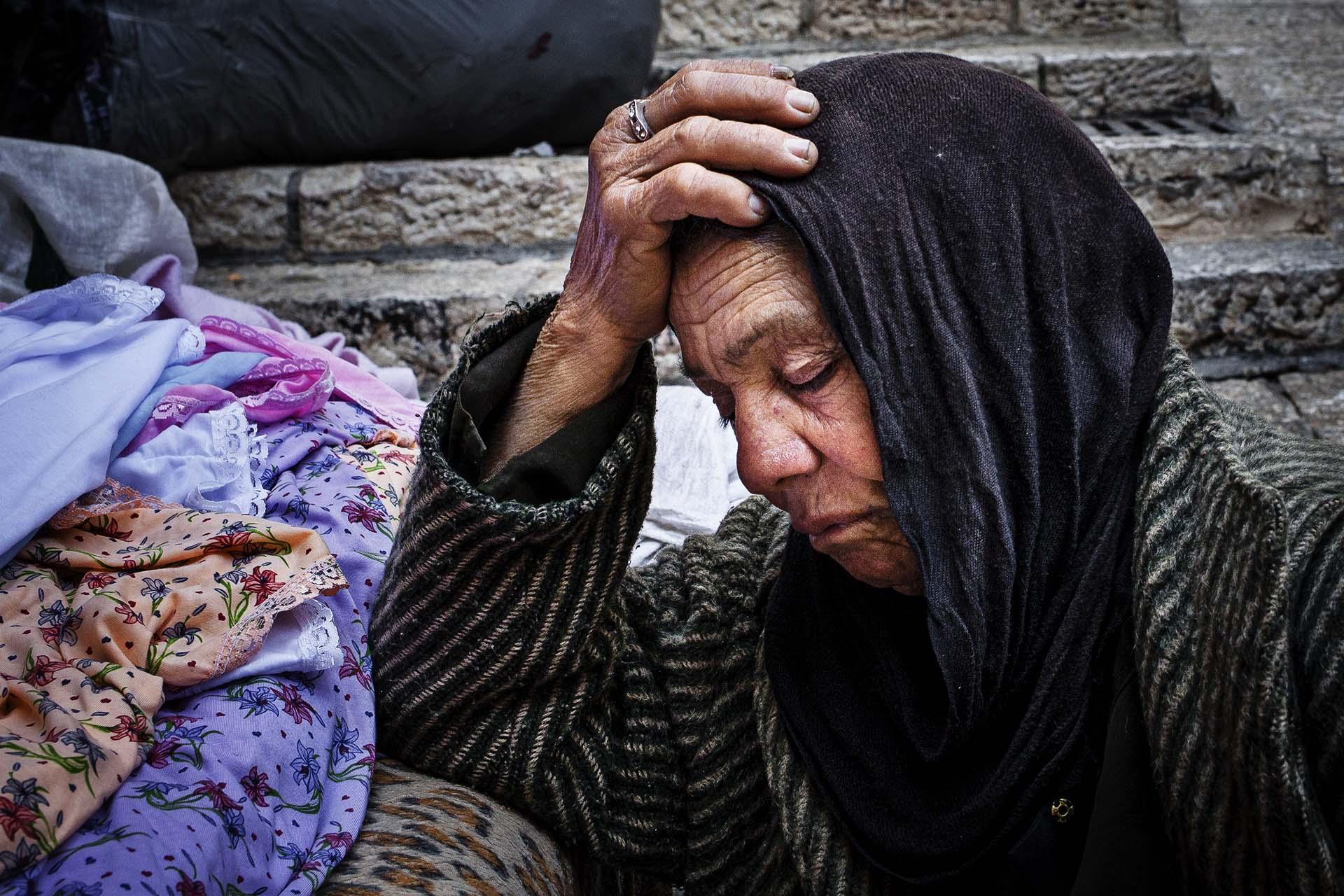 Para los Palestinos que no han huído, cada día es una prueba de resistencia.