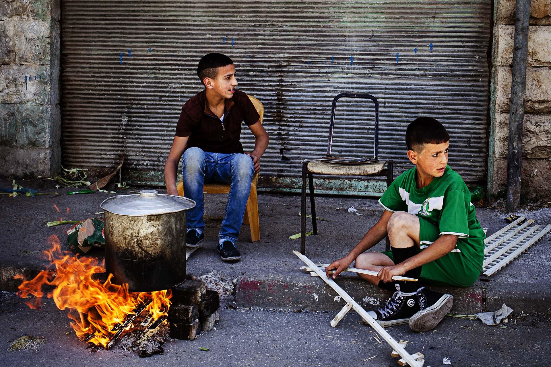 Nablús, Cisjordania.
