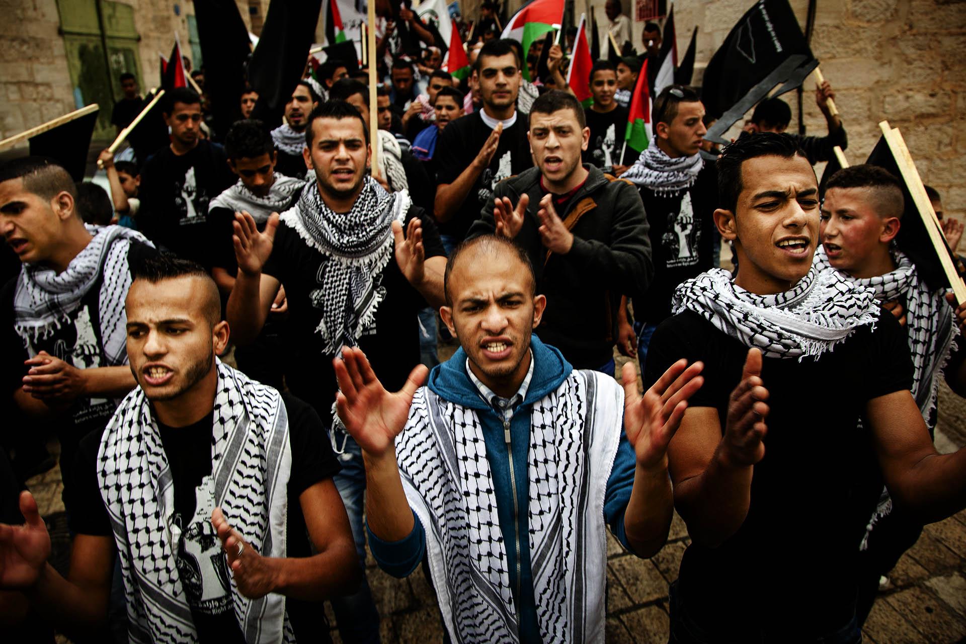 Conmemoración de la Naqba en Bethlehem.