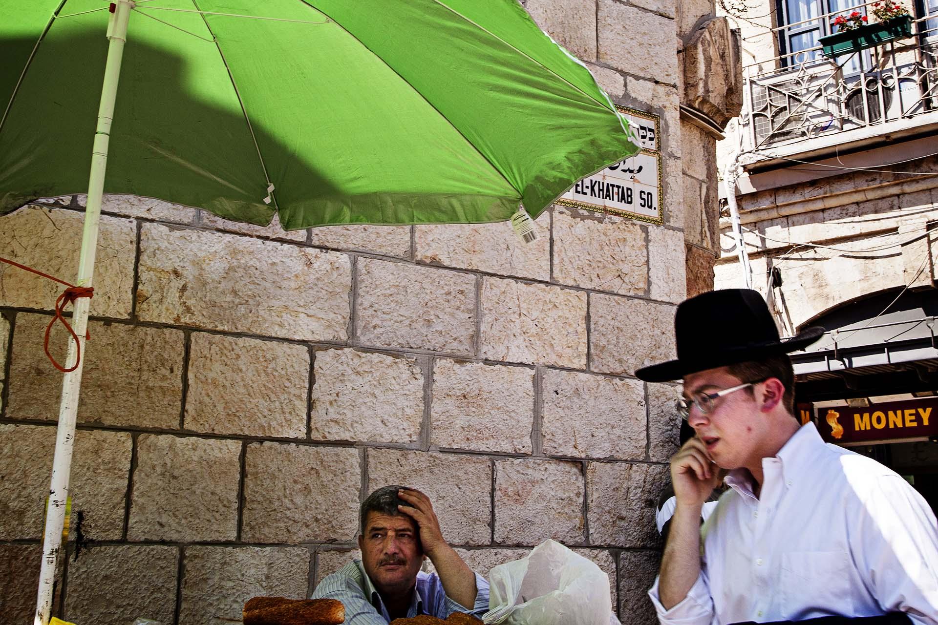 En Jerusalem la convivencia entre israelís y palestinos es más palpable