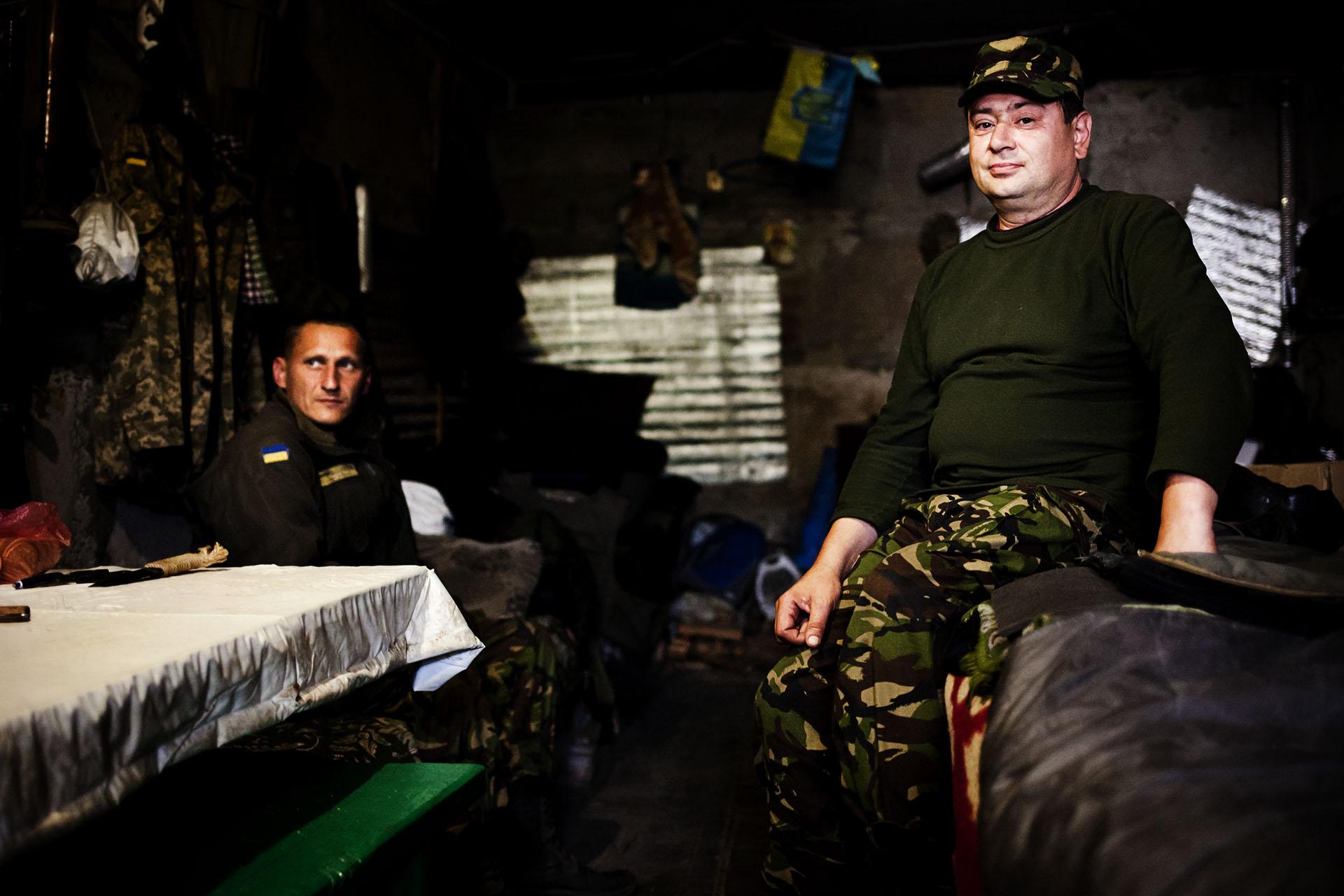 El ejército ucraniano está en proceso de profesionalización de sus tropas en la operación ATO, evitando en la medida de lo posible los batallones voluntarios / (Artemovsk).