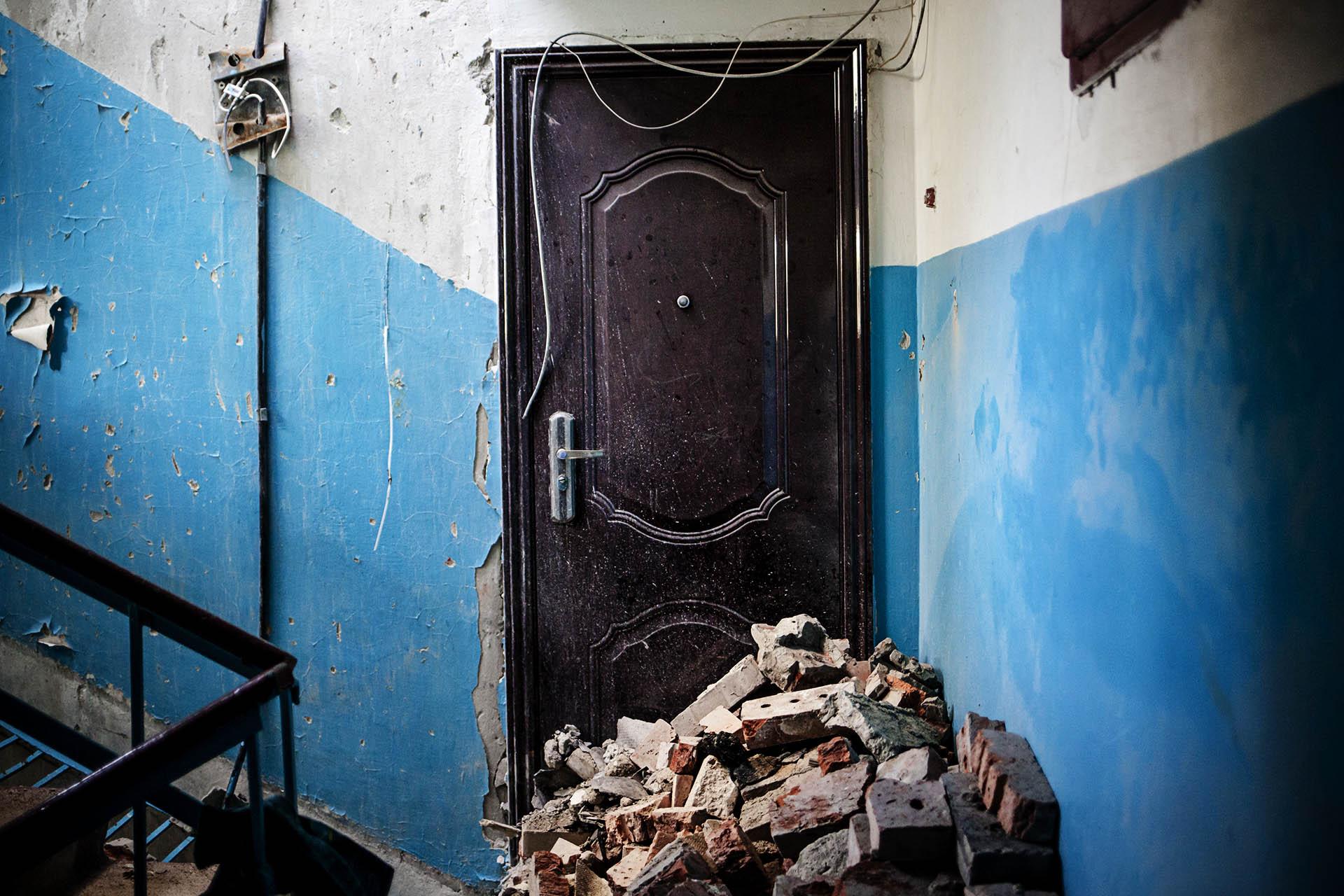 Cientos de edificios han sido gravemente dañados por los bombardeos / (Donestk).