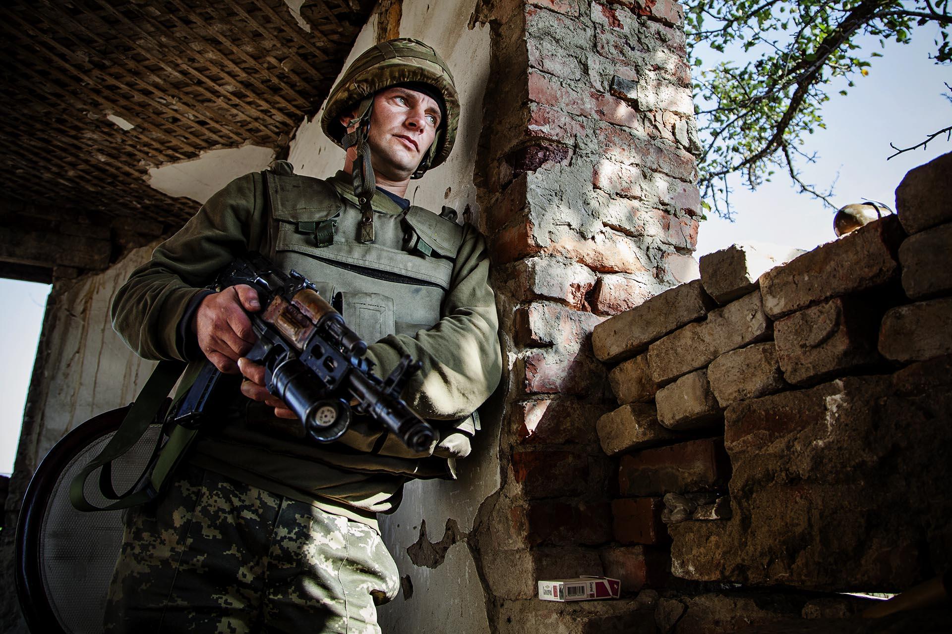 Salvo incidentes aislados, los acuerdos de Minsk han logrado pacificar la zona, aunque no resolver el conflicto / (Artemovsk).