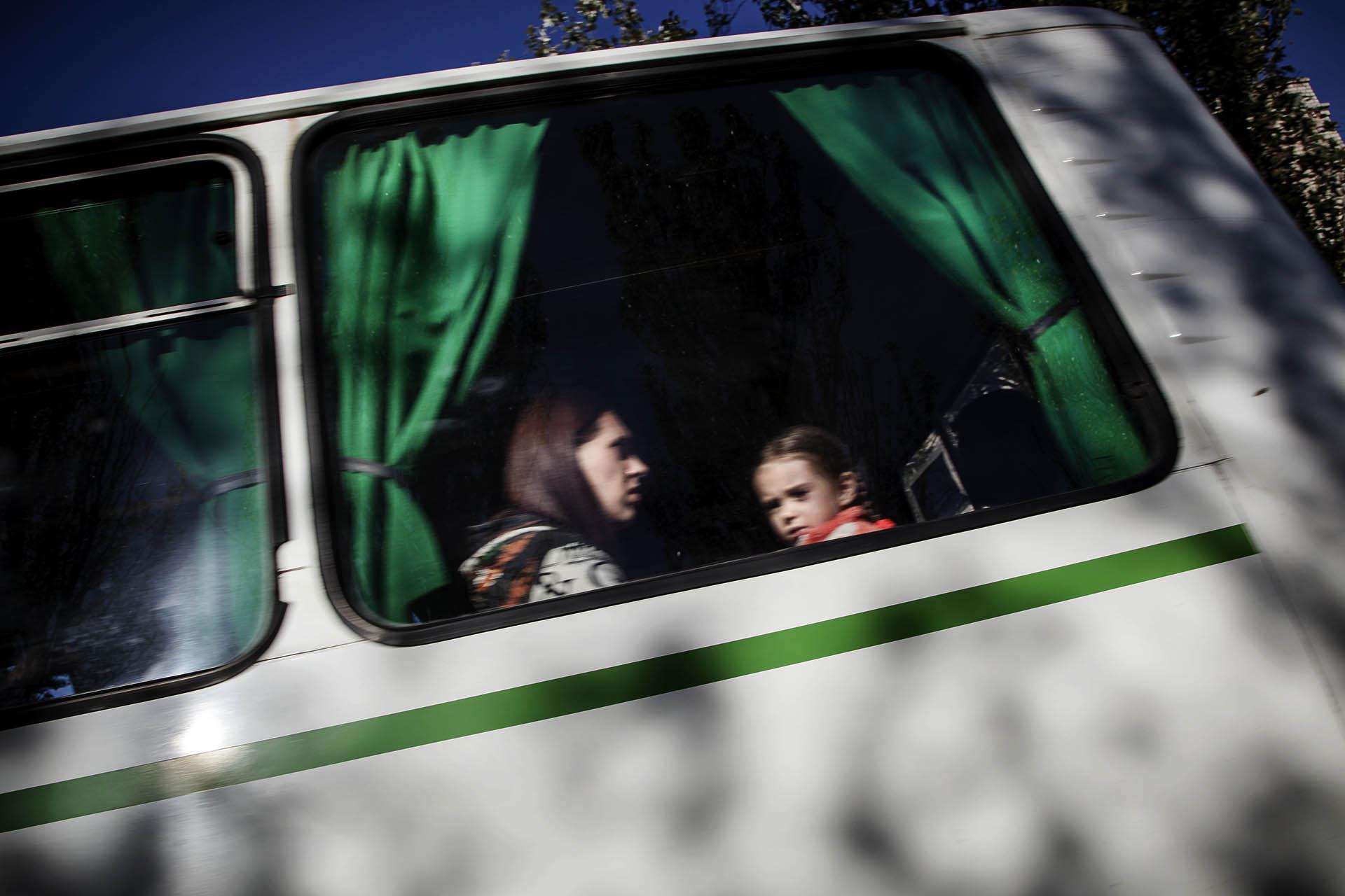 Se calcula que mas de un millón de personas han abandonado sus hogares desde el inicio del conflicto / (Donestk).