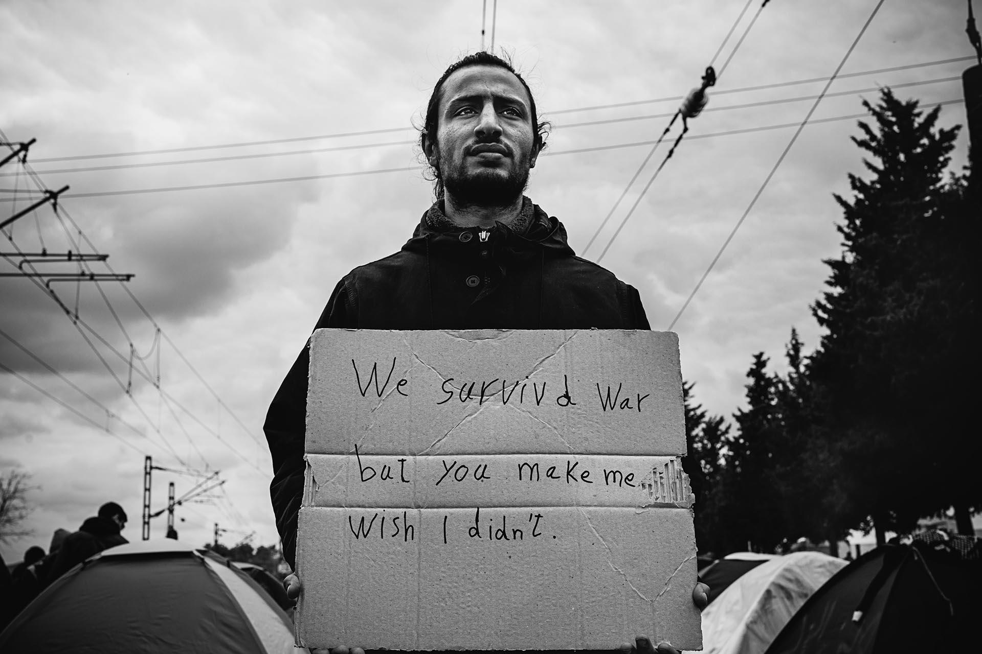 """""""Sobrevivimos a la guerra, pero me hacéis desear que no lo hiciéramos"""""""