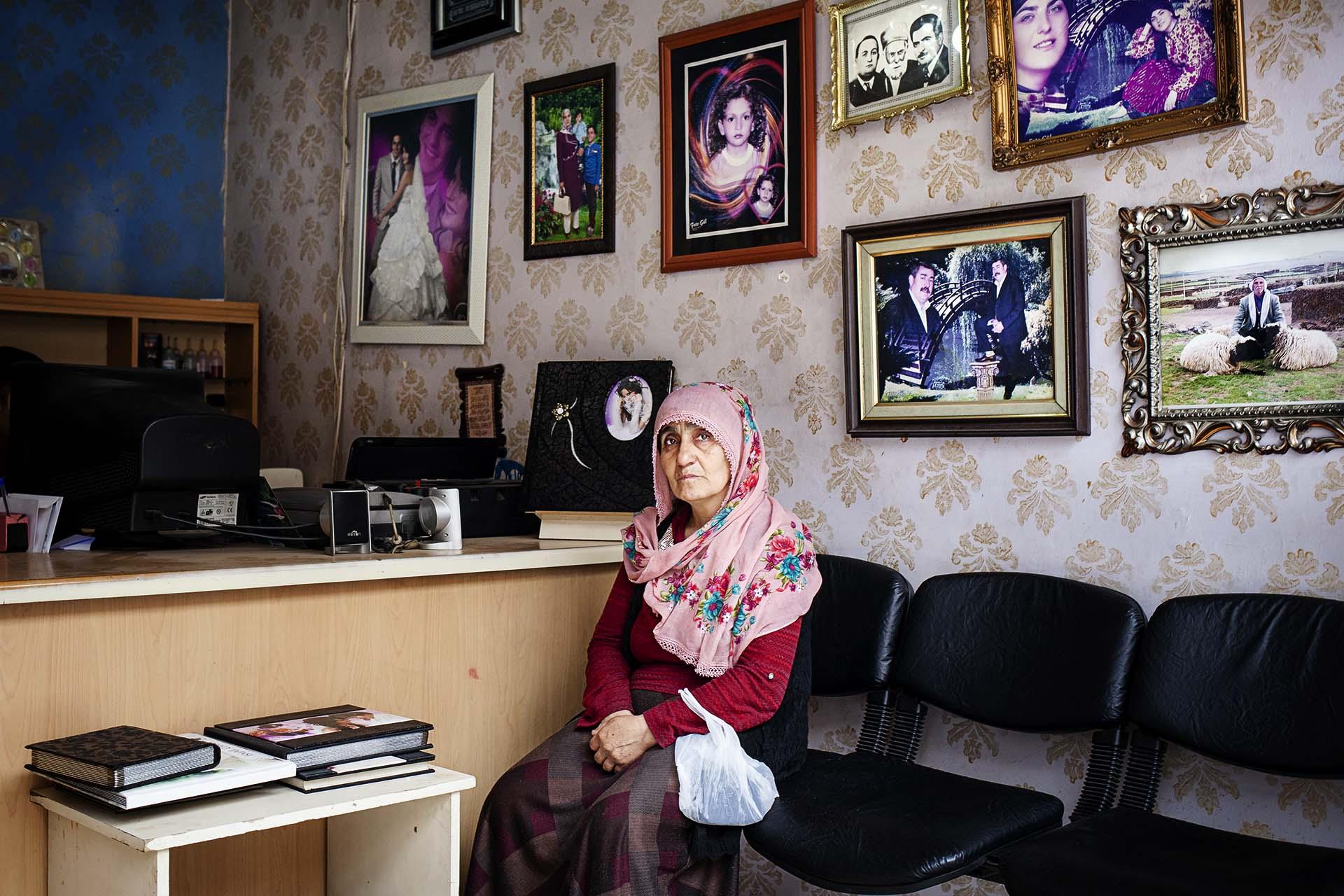 Casi todos los kurdos de Bakur tienen algún familiar muerto, detenido o desplazado por el conflicto.