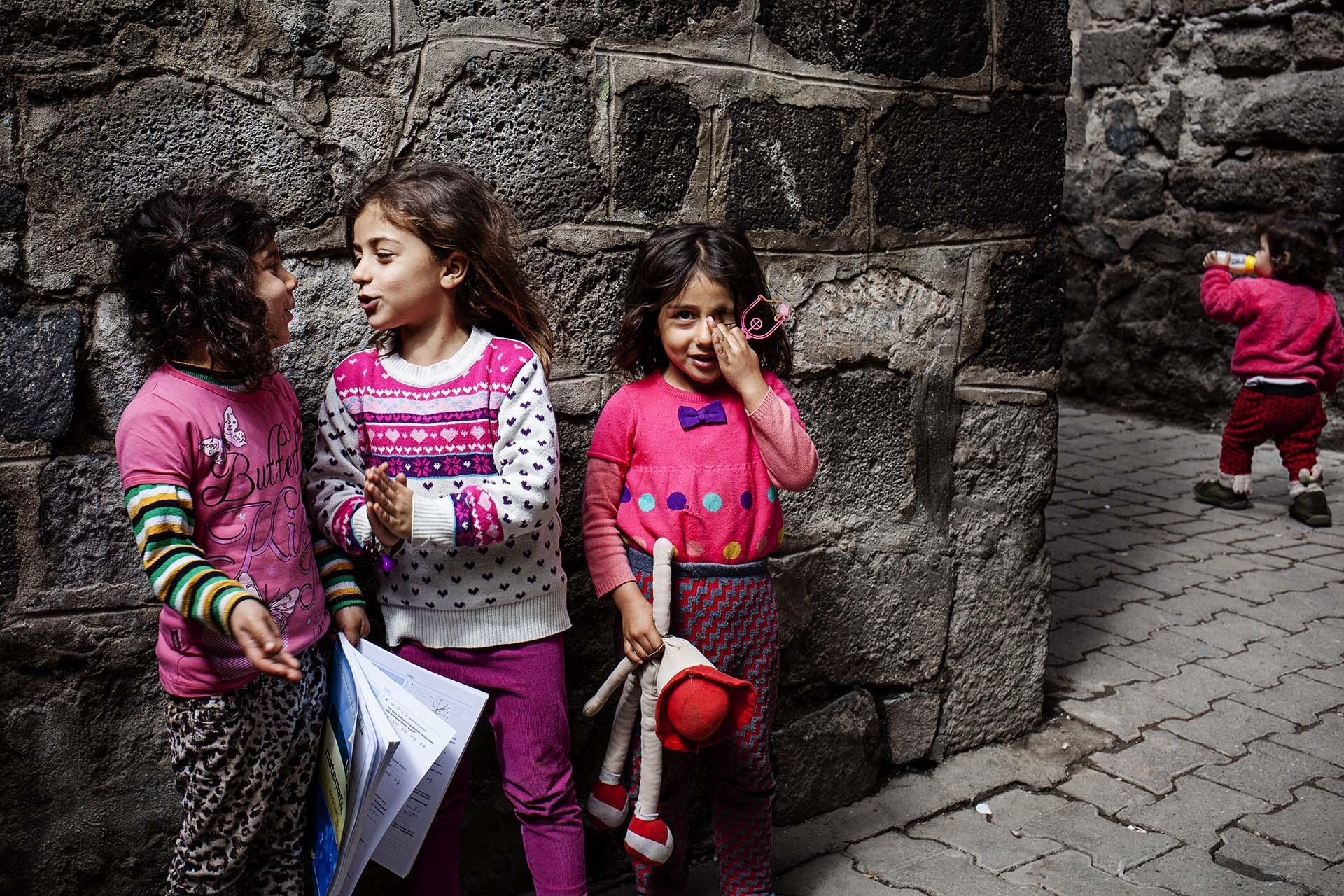 Más del 40% de los niños de Siria refugiados en Turquía no van a la escuela.